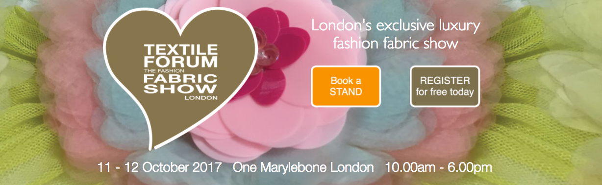 Textile Forum relaunches its website in run up to autumn show