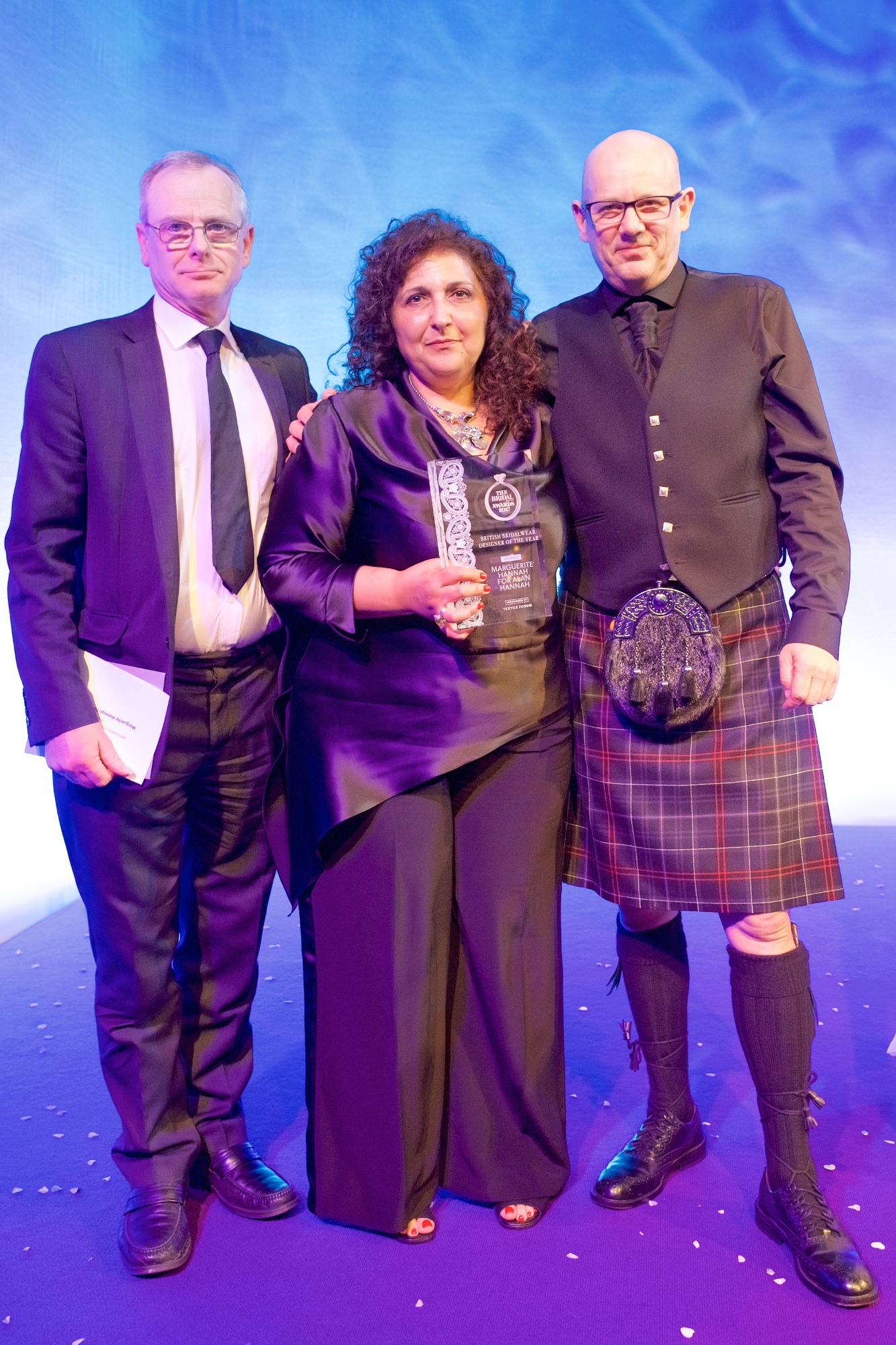 Textile Forum sponsors Designer of the Year at Bridal Buyer Awards