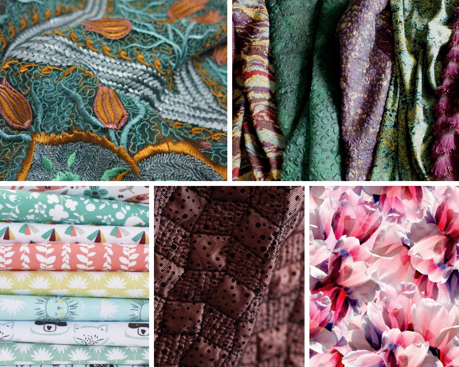 Textile Forum relates a fabric story strong in  quality and provenance