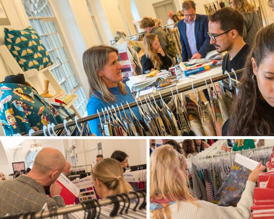 Lots of new faces appeared at Textile Forum's March 2019 edition